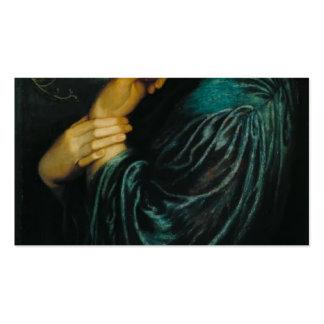 Dante Gabriel Rossetti- Proserpine Double-Sided Standard Business Cards (Pack Of 100)