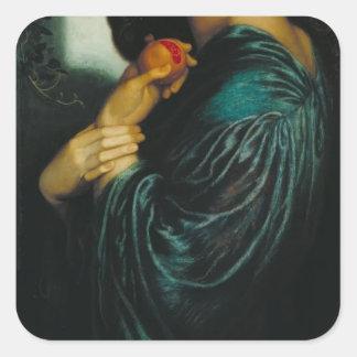 Dante Gabriel Rossetti- Proserpine Stickers