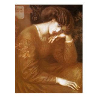 Dante Gabriel Rossetti- Reverie Postcard