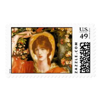 Dante Gabriel Rossetti - Stamp