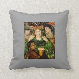 Dante Gabriel Rossetti- The Beloved Pillows