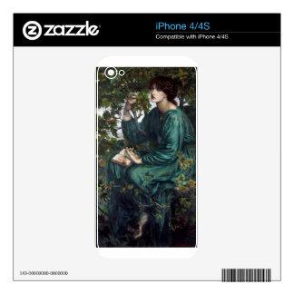 Dante_Gabriel_Rossetti_-_The_Day_Dream_-_Google_Ar iPhone 4 Decals