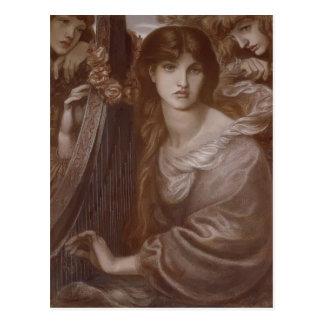 Dante Gabriel Rossetti: The Garland Postcard