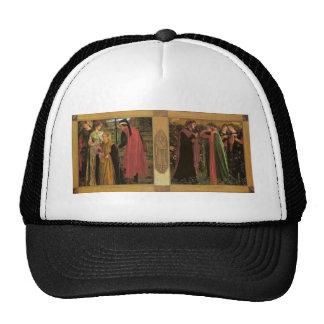 Dante Gabriel Rossetti: The Salutation of Beatrice Trucker Hat