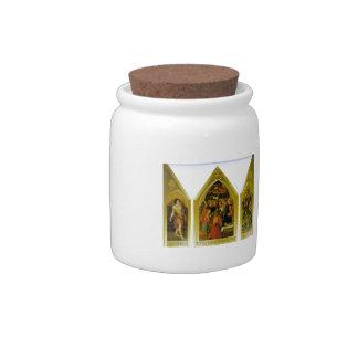Dante Gabriel Rossetti: The Seed of David Candy Jar