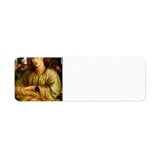 Dante Gabriel Rossetti- TheWomen'sWindow Labels