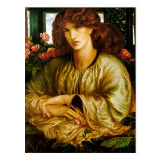 Dante Gabriel Rossetti- TheWomen'sWindow Postcard