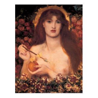 Dante Gabriel Rossetti- Venus Verticordia Tarjetas Postales