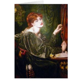 Dante Gabriel Rossetti- Veronica Veronese Greeting Card