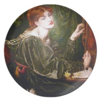 Dante Gabriel Rossetti- Veronica Veronese Plates