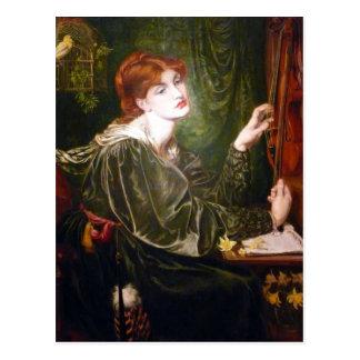 Dante Gabriel Rossetti- Veronica Veronese Post Cards