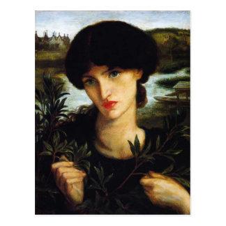 Dante Gabriel Rossetti- Water Willow Postcard