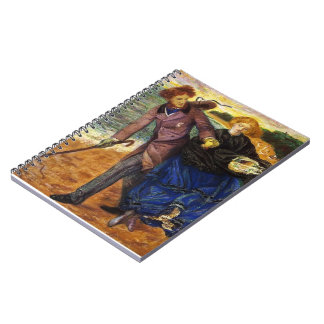 Dante Gabriel Rossetti- Writing on the Sand Spiral Note Book