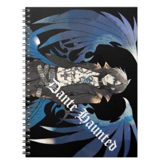 Dante hontetsudo Dante Haunted Spiral Notebook
