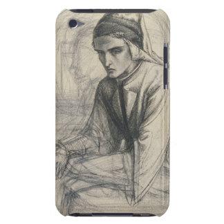 Dante in Meditation Holding a Pomegranate, c.1852 iPod Case-Mate Case