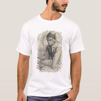 Dante in Meditation Holding a Pomegranate, c.1852 T-Shirt