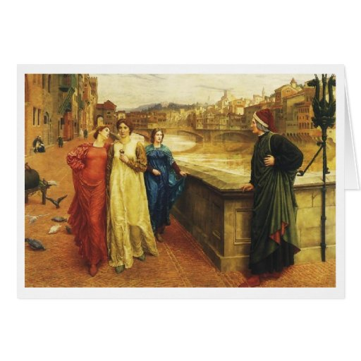 Dante Meets Beatrice Cards