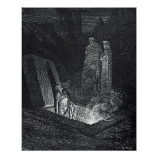 Dante s Inferno Poster by Gustave Dore