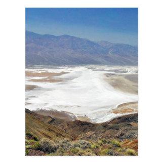 Dante S View Salt Flats Desert Death Valley Postcard