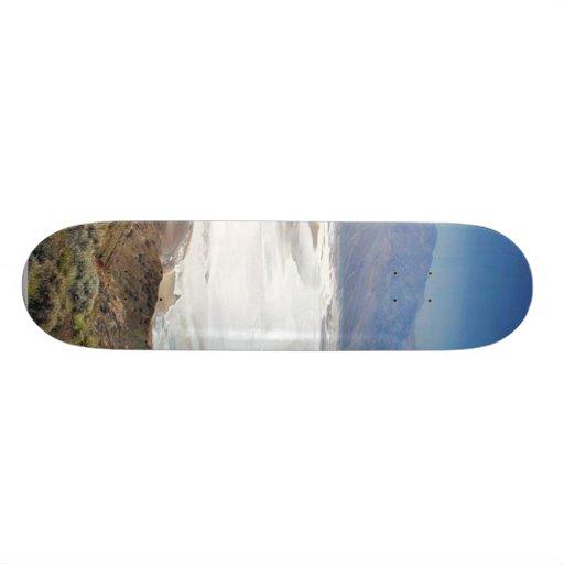 Dante S View Salt Flats Desert Death Valley Skate Deck