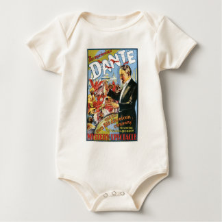 Dante ~ The Mysterious Magician Vintage Magic Act Baby Bodysuit
