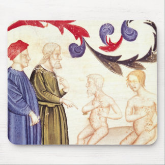 Dante, Virgil and the Plague-stricken Mouse Pad