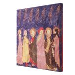 Dante y Beatriz con los santos del paraíso Impresión En Lienzo