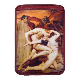 Dante y Virgil (Bouguereau 1850) Fundas MacBook