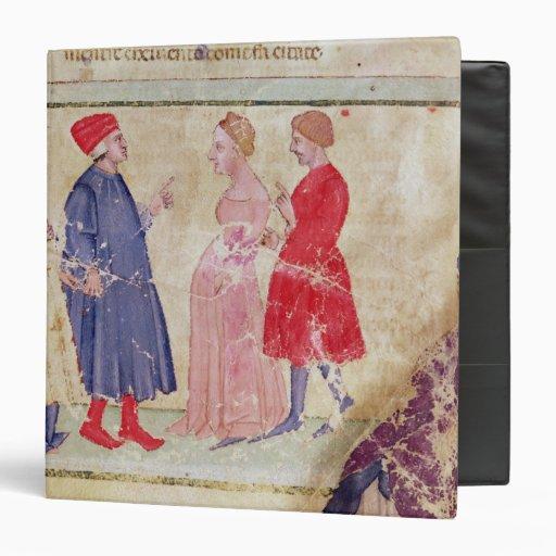 """Dante y Virgil con Francisca DA Rímini Carpeta 1 1/2"""""""