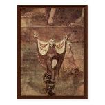 Dante y Virgil en el hielo de Kozythus. Por Juan Postal