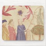 Dante y Virgil en el paraíso terrestre Tapete De Ratones