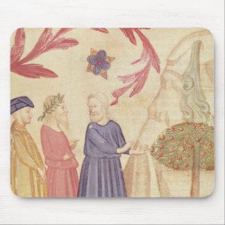 Dante y Virgil en el paraíso terrestre Tapete De Ratón