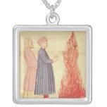 Dante y Virgil reconocen Ulysees Colgante Cuadrado