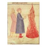 Dante y Virgil reconocen Ulysees Postales