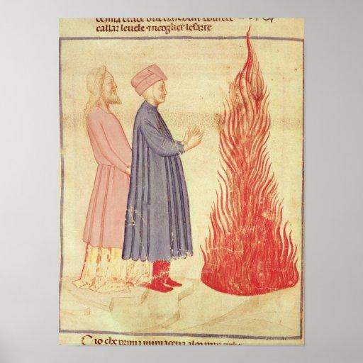 Dante y Virgil reconocen Ulysees Póster