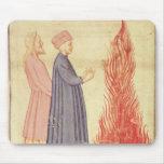 Dante y Virgil reconocen Ulysees Tapete De Ratón