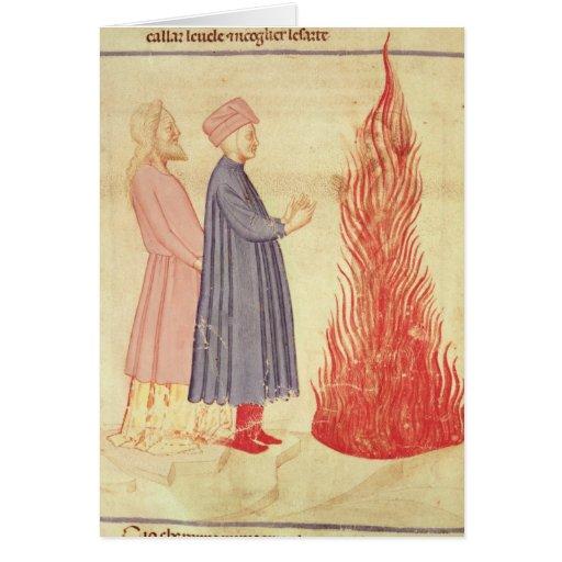 Dante y Virgil reconocen Ulysees Tarjeta