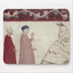 Dante y Virgil resuelven las almas encarceladas Mouse Pad