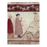 Dante y Virgil resuelven las almas encarceladas Postal