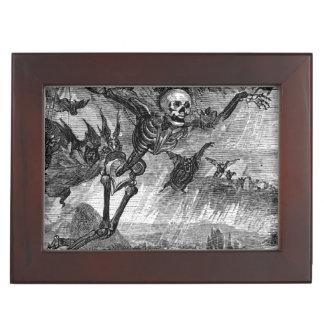 Dante's Death in the Sky keepsake box