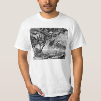 Dante's Death in the Sky T-shirt