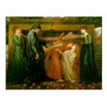 Dante's Dream by Dante Gabriel Rossetti Post Cards
