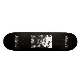 Dante's Inferno (Black) Customized Skateboard