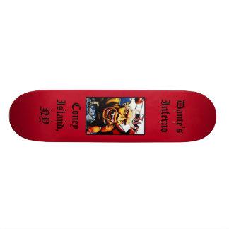 Dante's Inferno (Red) Customized Skateboard