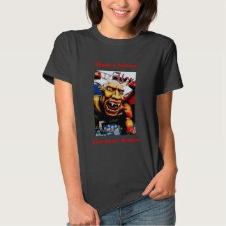 Dante's Inferno Spookhouse Ladies' T-shirt