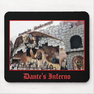 Dante's Inferno Spookhouse Mousepad