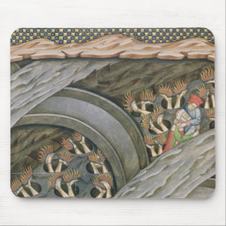 Dante's Inferno with a commentary Mouse Pad