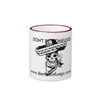 Dante's Infuego Ringer Coffee Mug