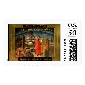 Dante's Trilogy Feature Film Official Poster Postage