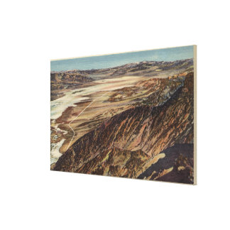 Dante's View of the Valley Canvas Print